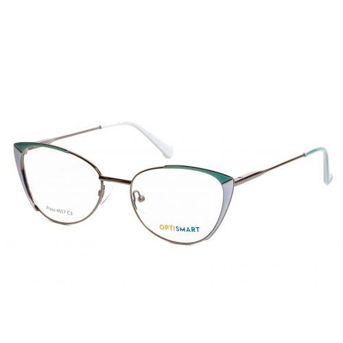 Ochelari de vedere Optismart Femeie Cat Eye Plaza 4057 C3