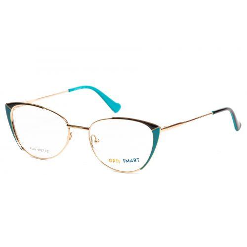 Ochelari de vedere Optismart Femeie Cat Eye Plaza 4057 C2