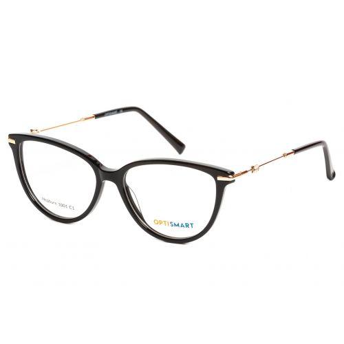 Ochelari de vedere Optismart Femeie Cat Eye Hepburn 1001 C1