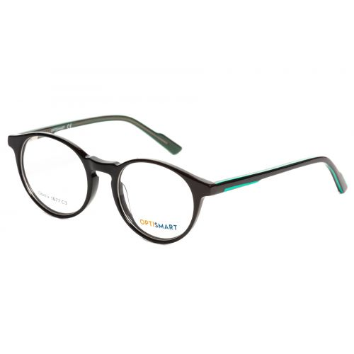 Ochelari de vedere Optismart Unisex Rotunzi Obelix 1077 C3