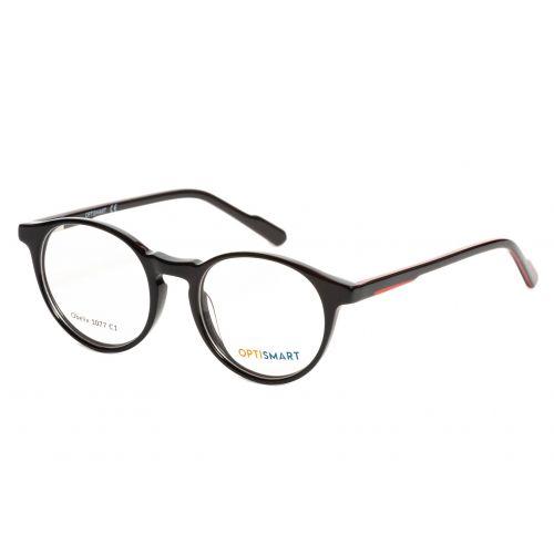 Ochelari de vedere Optismart Unisex Rotunzi Obelix 1077 C1