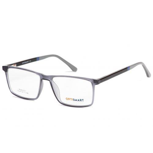 Ochelari de vedere Optismart barbat Dreptunghiulari Bristol 012 C2