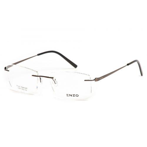Ochelari de vedere Enzo Barbat Dreptunghiulari EZR 500 C2