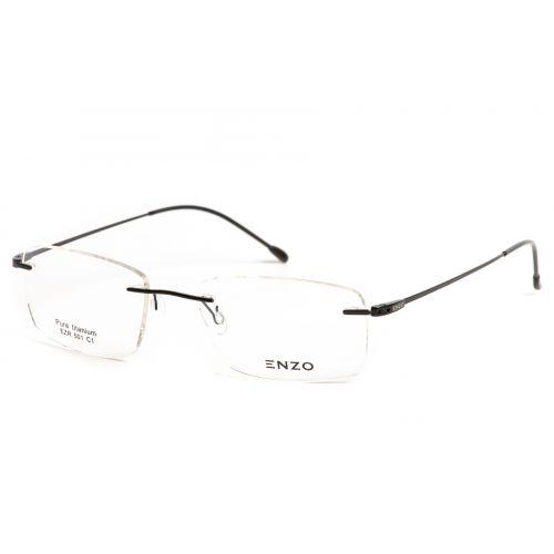 Ochelari de vedere Enzo Barbat Dreptunghiulari EZR 501 C1