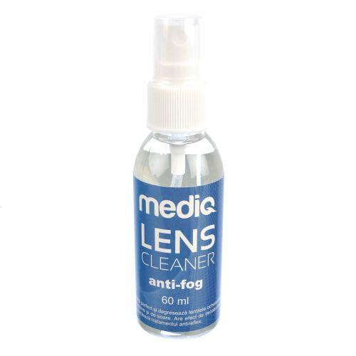 Solutie curatare lentile Mediq Lens Cleaner Anti-fog 60 ml
