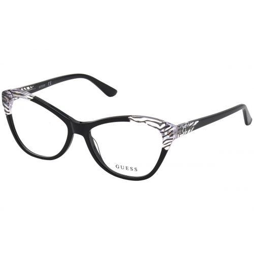Ochelari de vedere Guess dama Cat Eye GU 2818 001