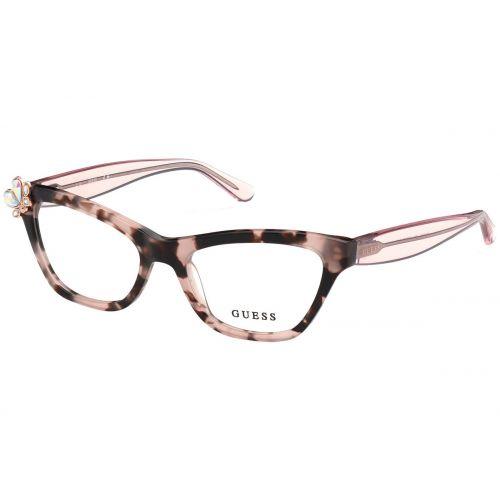 Ochelari de vedere Guess dama Cat Eye GU 2836 074