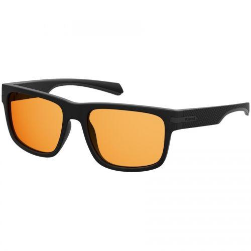 Ochelari de soare Polaroid Barbat Patrati PLD 2066/S 003 HE BLACK