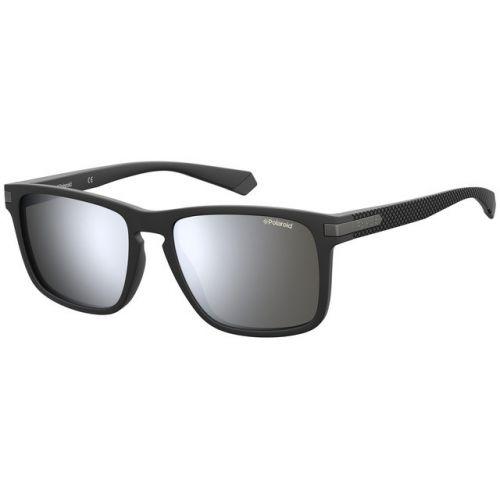 Ochelari de soare Polaroid Barbat Patrati PLD 2088/S 003 EX MATTE BLACK