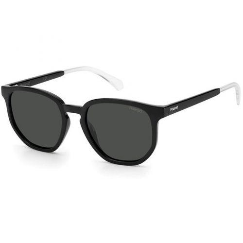 Ochelari de soare Polaroid Unisex Rotunzi PLD 2110/S 807 M9 BLACK