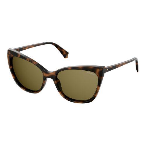Ochelari de soare Polaroid Femeie Cat Eye PLD 4060/S 086 SP DARK HAVANA