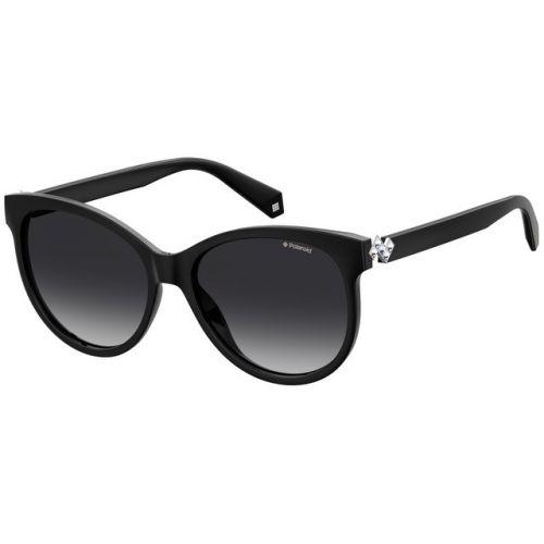 Ochelari de soare Polaroid Femeie Rotunzi PLD 4079/S/X 807 WJ BLACK