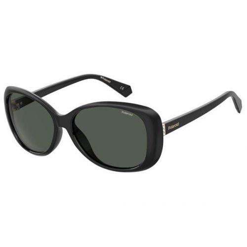 Ochelari de soare Polaroid Femeie Ovali PLD 4097/S 807 M9 BLACK