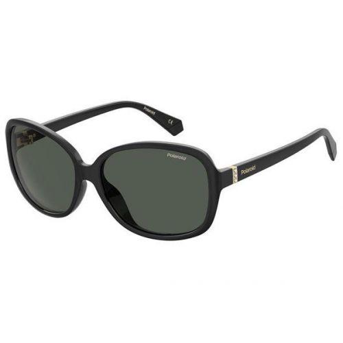 Ochelari de soare Polaroid Femeie Ovali PLD 4098/S 807 M9 BLACK