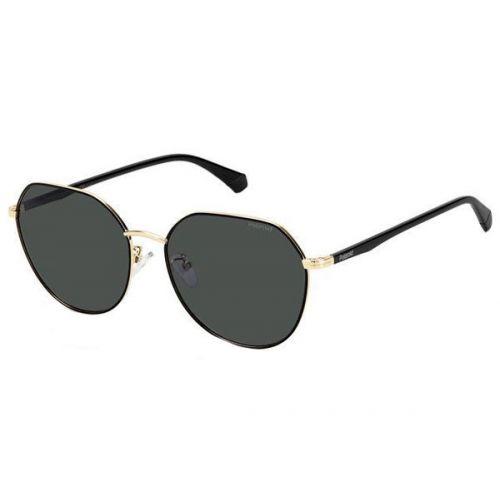 Ochelari de soare Polaroid Femeie Rotunzi PLD 4106/G/S RHL M9 GOLD BLACK