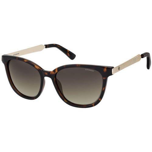 Ochelari de soare Polaroid Femeie Rotunzi PLD 5015/S LLY 94 HAVANA GOLD