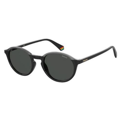 Ochelari de soare Polaroid Unisex Rotunzi PLD 6125/S 08A M9 BLACK