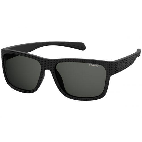 Ochelari de soare Polaroid Barbat Patrati PLD 7025/S 003 M9 MATT BLACK