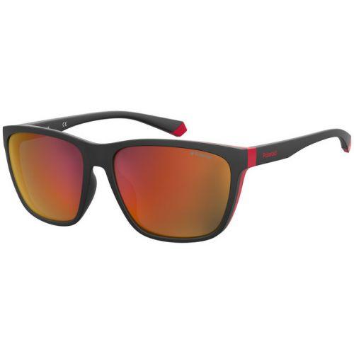Ochelari de soare Polaroid Barbat Patrati PLD 7034/G/S D51 OZ BLACK RED