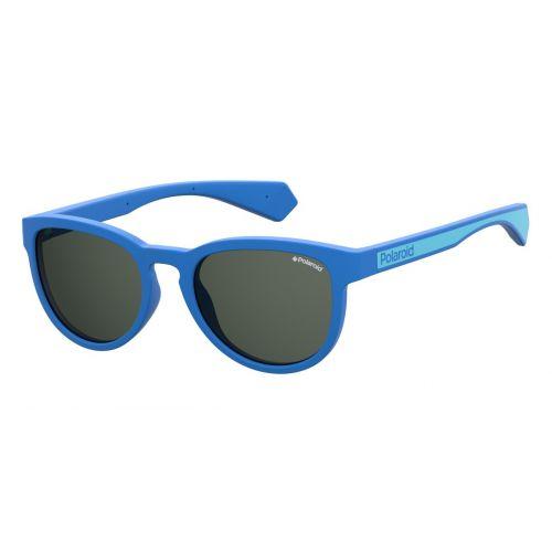 Ochelari de soare Polaroid Copii Rotunzi PLD 8030/S PJP M9 BLUE
