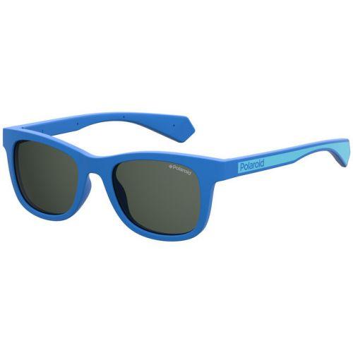 Ochelari de soare Polaroid Copii Wayfarer PLD 8031/S PJP M9 BLUE