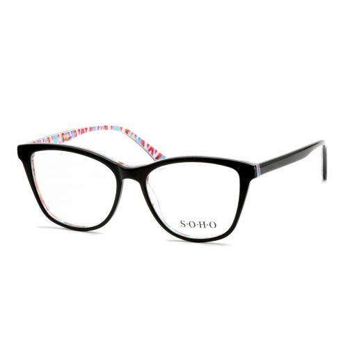 Ochelari de vedere SOHO Dama Ovali 1132 BLACK 53